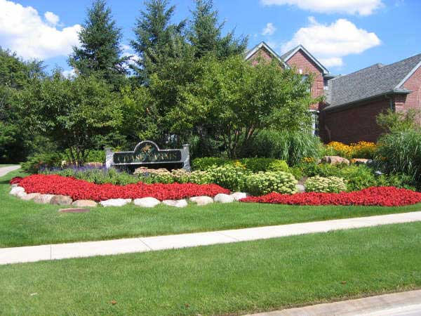 Flower Bed Installations And Designs